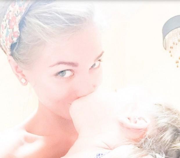 Асмус с дочерью