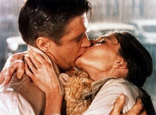 Культовый фильм «Завтрак у Тиффани» с Одри Хепберн и Джордж Пеппард