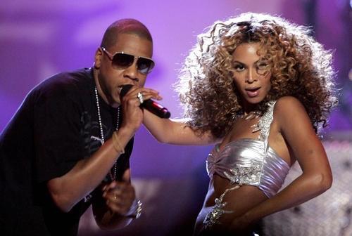 Рэпер Jay-Z и Бейонсе Ноулз