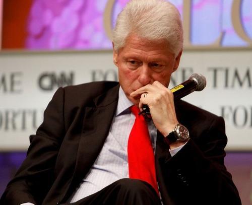 Билл Клинтон в 2010 году ...
