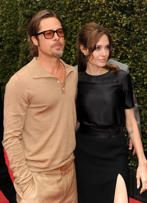 Брэд Питт / Brad Pitt и Анджелина Джоли / Angelina Jolie