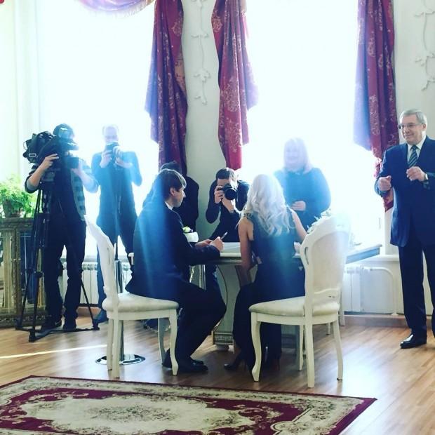 Бракосочетание Алексея Ягудина и Татьяны Тотьмяниной