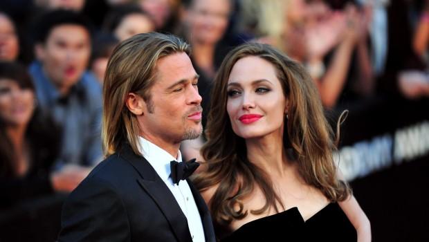 Бред Пит и Анджелина Джоли
