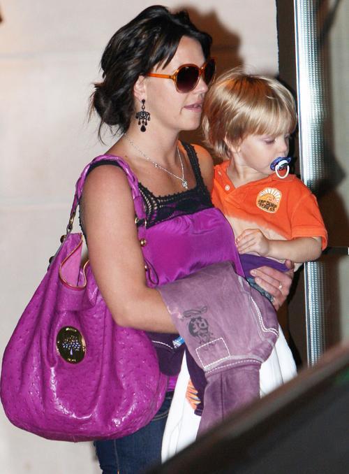 Бритни Спирс с младшим сыном Джейденом Джеймсом