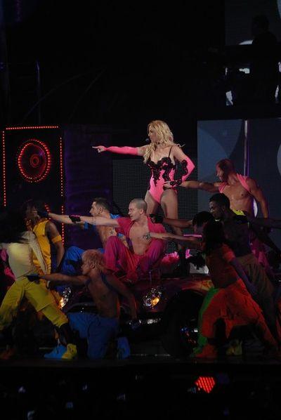 Бритни Спирс на концерте в Киеве