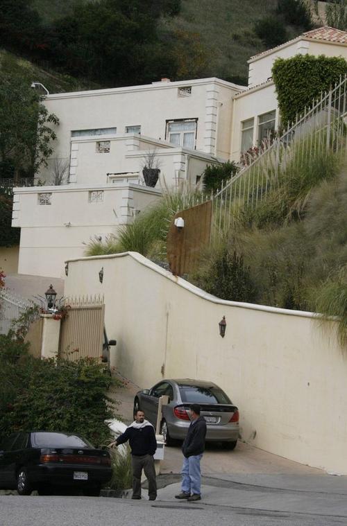 Дом, в котором жила Бриттани Мерфи