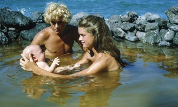 Кадр из фильма Голубая лагуна с Брук Шилдс