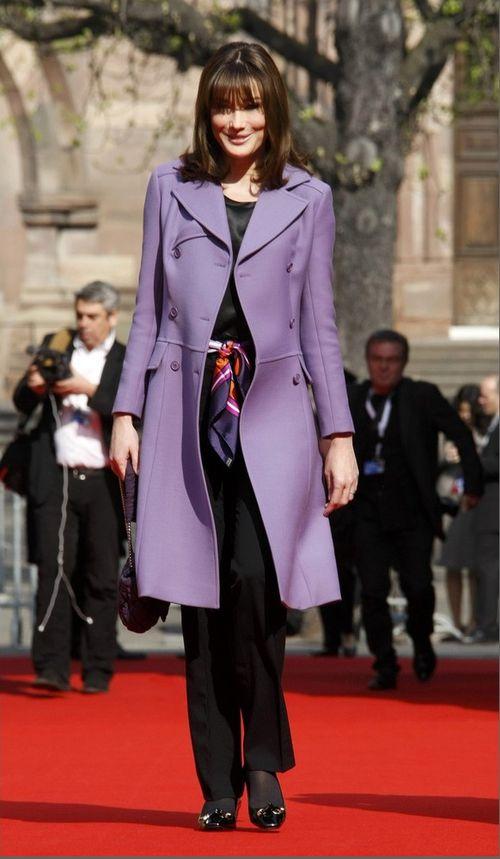 2. Карла Бруни-Саркози