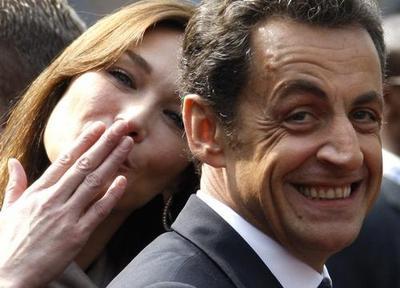 Карла Бруни-Саркози и Николя Саркози