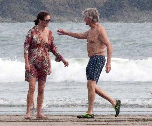 Кэтрин Зета-Джонс и Майкл Дуглас на отдыхе в Панаме