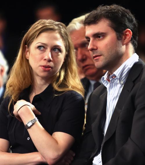 Челси Клинтон / Chelsea Clinton и Марк Мезвински / Marc Mezvinsky