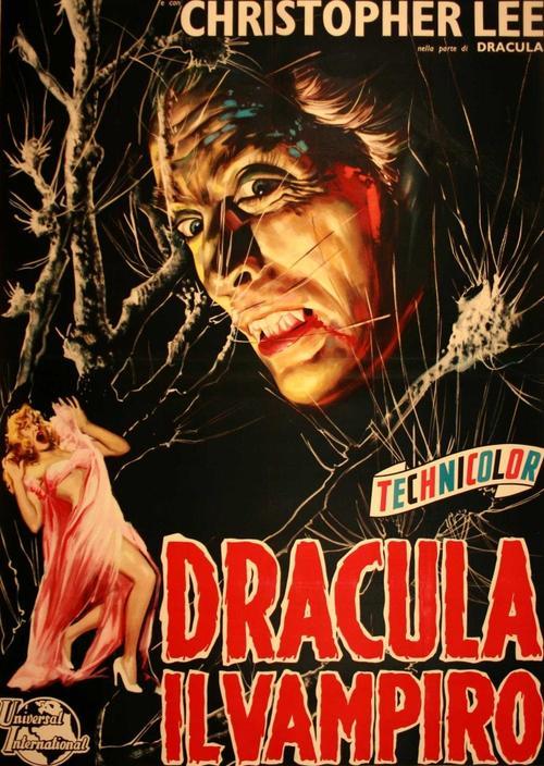 Кристофер Ли в роли Дракулы занял второе место в рейтинге лучших актеров-вампиров