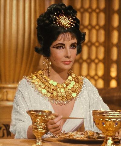 Элизабет Тейлор / Elizabeth Rosemond Taylor в фильме «Клеопатра» 1963 года