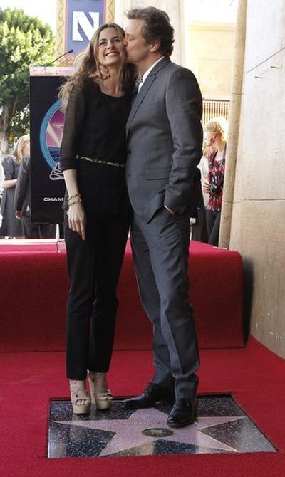 Ливия Джуджиоли / Livia Giuggioli и Колин Ферт / Colin Firth