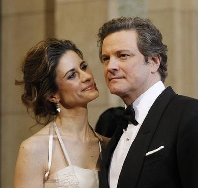 Колин Ферт / Colin Firth и Ливия Джиуджиолли / Livia Giuggioli