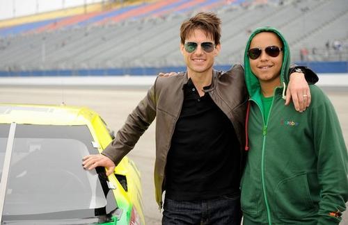 Том Круз с сыном Коннором