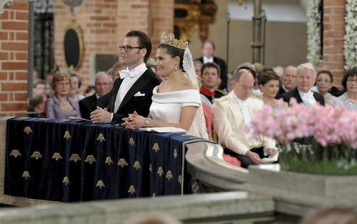 ронпринцесса Швеции Виктория и Даниэль Вестлинг