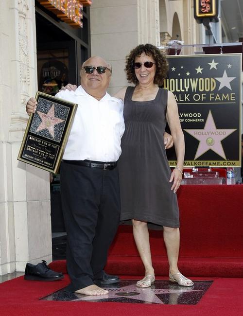 Денни Де Вито / Danny DeVito с супругой Реа Перлман / Rhea Perlman