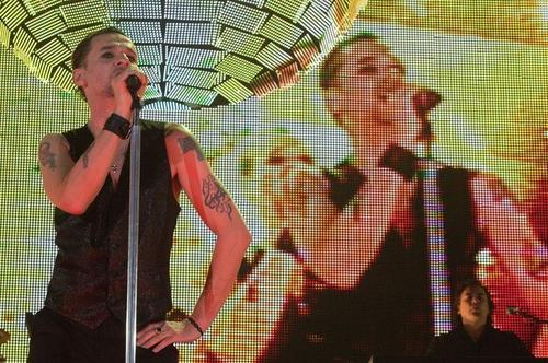 Фронтмен группы Depeche Mode Дейв Гэан (Dave Gahan)