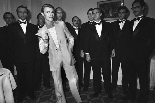 Дэвид Боуи в молодости. 1978 год.