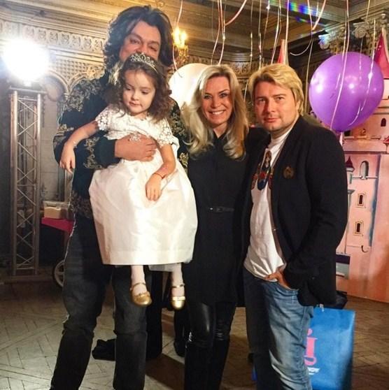 Киркоров устроил чудный детский праздник вдень четырехлетия дочери
