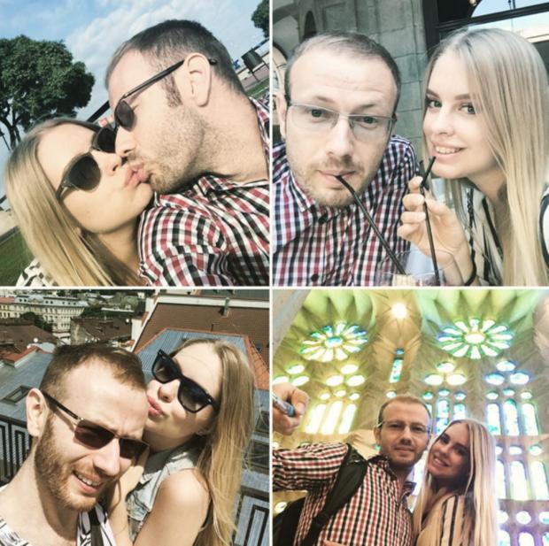 Денис Повалий и Светлана Вихрова