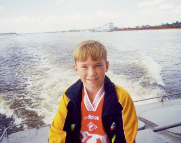Десятилетний Александр Петров