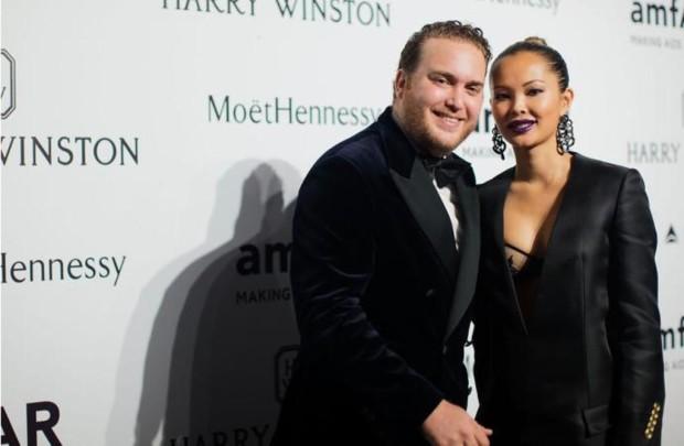 Дэвид Вертхаймер с женой