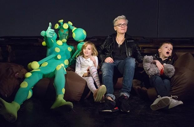 Диана Арбенина с детьми