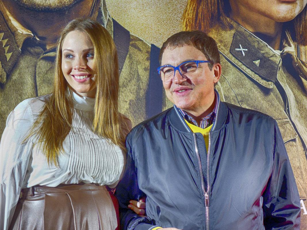 Дибров и жена
