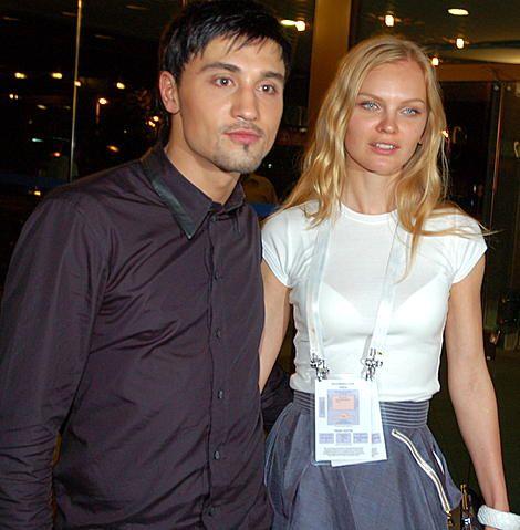 Дима Билан и модель Лена Кулецкая