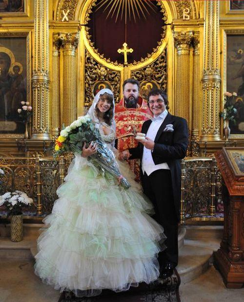 В апреле Дмитрий Дибров обвенчался с Полиной Наградовой