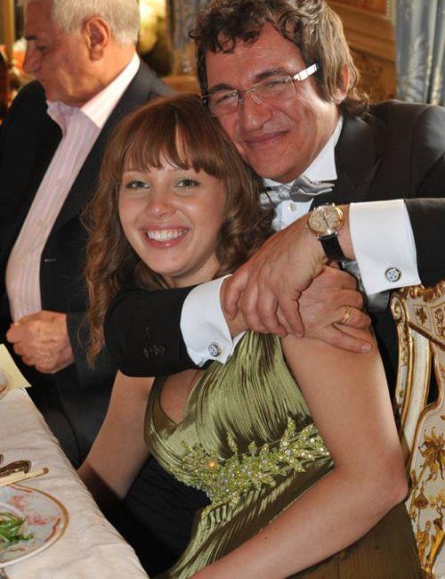 Дмитрий Дибров с любимой женой Полиной