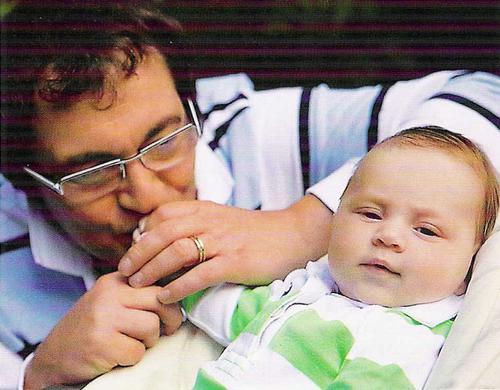 Дмитрий Дибров с сыном Сашей