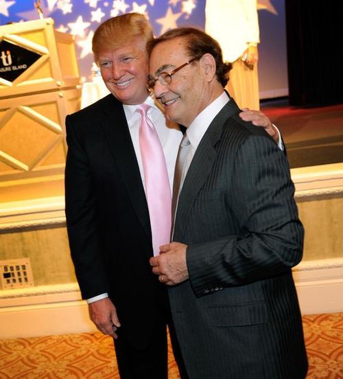 Дональд Трамп и Фил Раффин