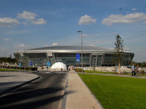 «Донбасс Арена» за несколько дней до открытия