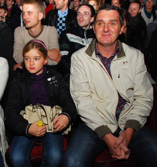 Дядя Жора с дочерью