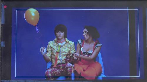 Джамала на съемках видеоклипа на песню Smile