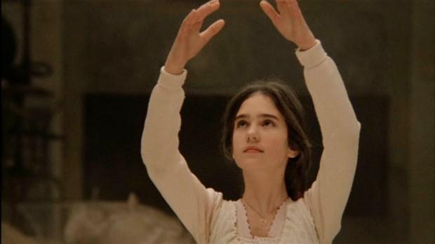 Кадр из фильма Однажды в Америке с Дженнифер Коннели