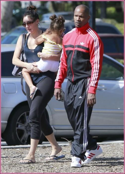 Джейми Фокс и его младшая дочь