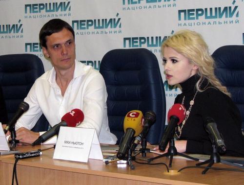 Егор Бенкендорф и Мика Ньютон