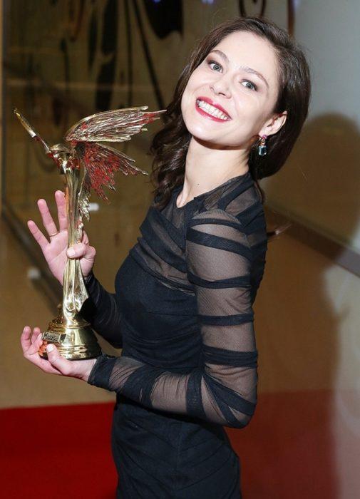 Елена Лядова на торжественной церемонии «Ника-2015»
