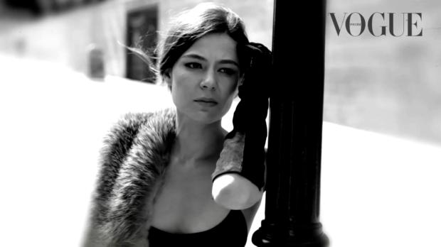 Елена Лядова в съёмке для Vogue
