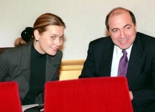 Елена Горбунова и Борис Березовский