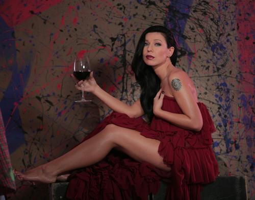 Певица Елка на съемках клипа на песню «Прованс»