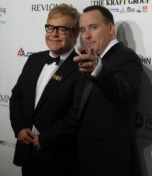 Элтон Джон / Elton John и Дэвид Ферниш / David Furnish