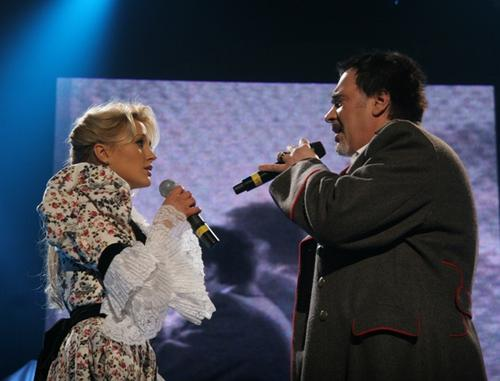 Ева Бушмина спела дуэтом с Валерием Меладзе