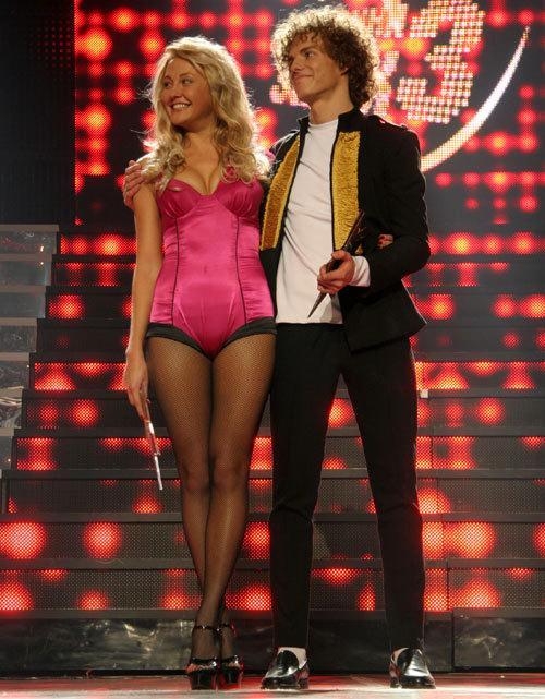 Ева Бушмина и Алексей Матиас