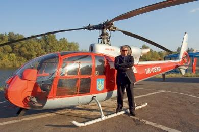 А еще Евгений Червоненко обзавелся собственным вертолетом