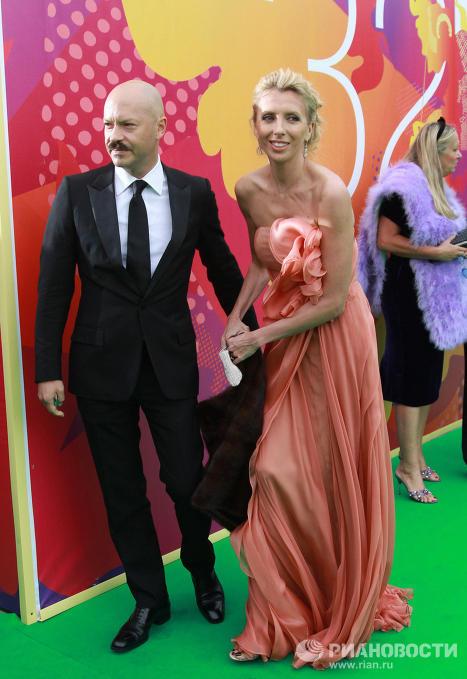 Федор Бондарчук с супругой Светаланой